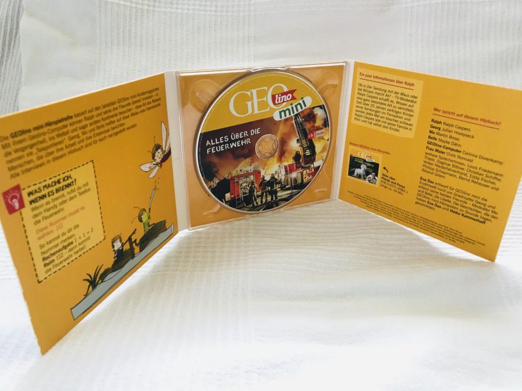 CD Innenansicht Geolino Mini Alles über die Feuerwehr