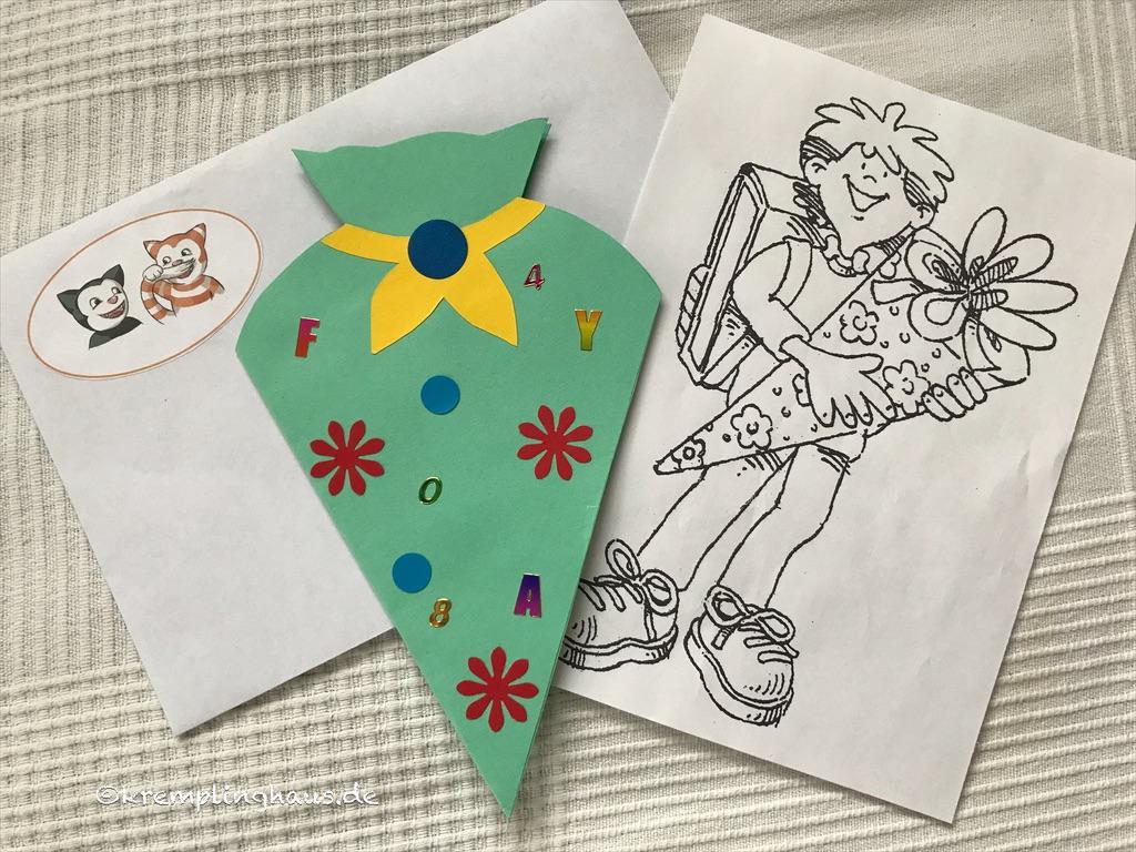 Brief von der Lehrerin zum Schulanfang
