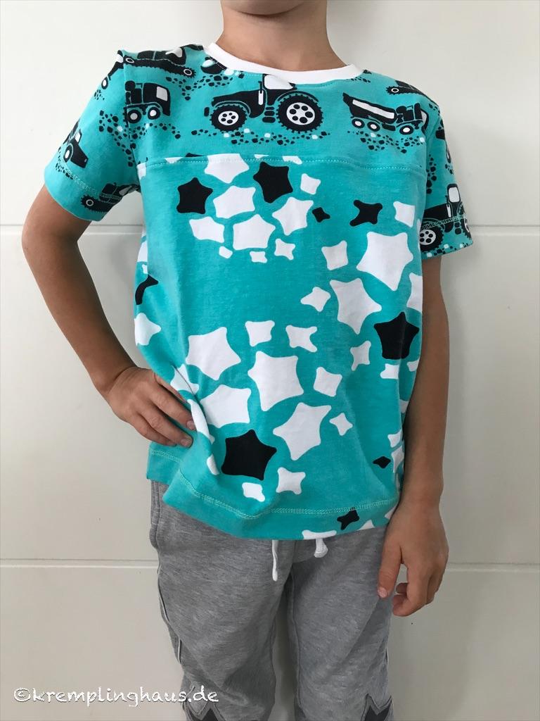 T-Shirt Baustelle Vorderseite