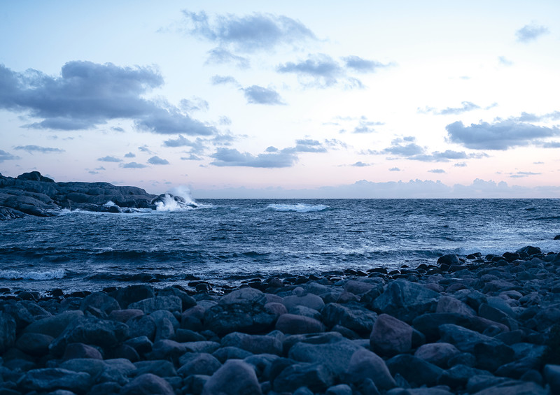 Unter freiem Himmel Foto mit Meer