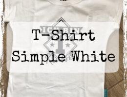 T-Shirt Simple White